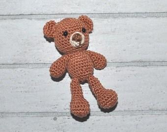 Teddy bear - Amigurumi - toys and stuffed animals for Blythe