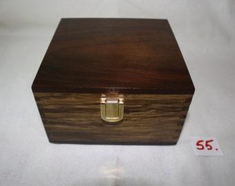 Peruvian Walnut Jewelery Box