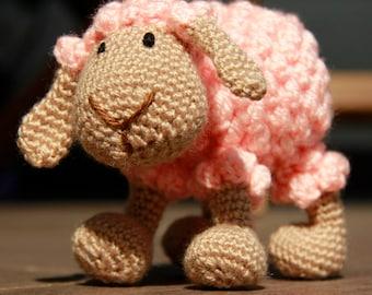 amigurumi sheep, crochet lamb, crochet sheep, stuffed toy, babyshower