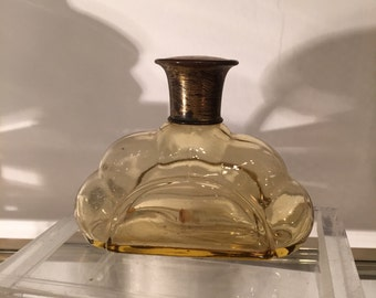 1920s Perfume Bottle, Hand Blown.