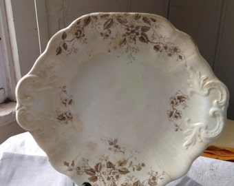 Vintage Wood & Sons Small Platter