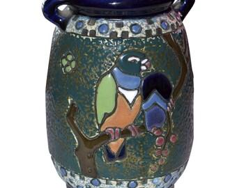 Czechoslovakia Amphora Arts & Crafts Design Vase