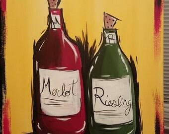 Merlot and Reisling