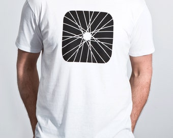 Organic cotton men's t-shirt - Spoked