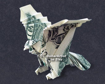 EAGLE Money Origami - Dollar Bill Cash - Animal - Bird