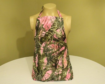 Pink Camouflage Apron