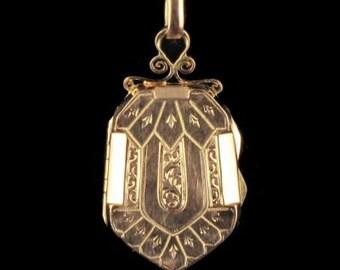 Former Medallion in pink gold