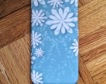 White flowers iPhone 6s case Flowers iPhone 6 case Floral iphone 5s case Art iPhone 6 Plus  Cute iPhone 6s plus Flowers iPhone