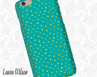 Blue Dots Pattern  iPhone 6 Case, iPhone 5S Case, iPhone 5 Case, Cell Phone Cover, iPhone 5C Case, iPhone 6 Plus Case, iPhone 6s case