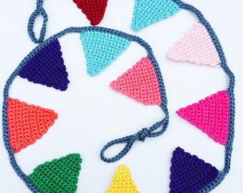 Handmade Cotton Crochet Bunting