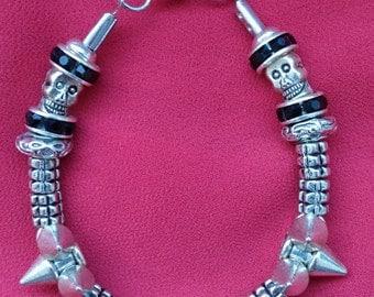 Gothic Punk Rock Bracelet