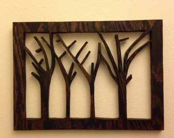 Up-cycled Wood sculpture