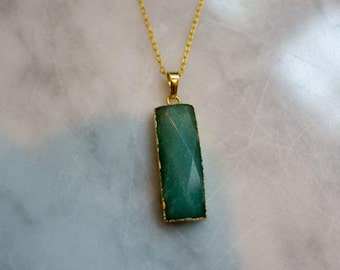Forest Emerald Pendant