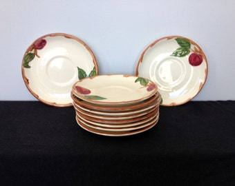 Vintage Franciscan Apple Saucer (USA) - 10 Available!