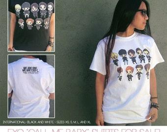"EXO ""Call Me Baby"" Shirts"