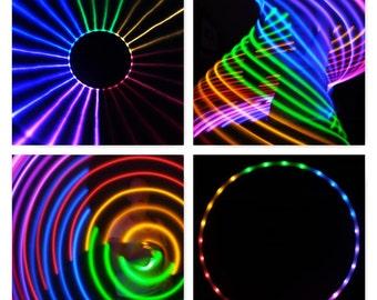 Sections Rainbow LED Hula Hoop