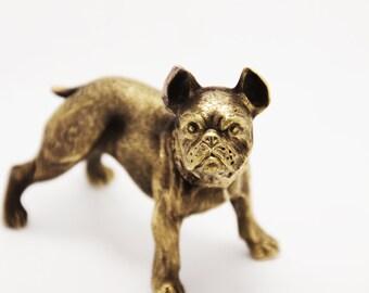 French Bulldog, Bulldog Dog, Bulldog, Dog Figurine, Bulldog Gift, Dogs Miniature, Miniature Bulldog, Bulldog Sculpture, Bulldog Dog Art