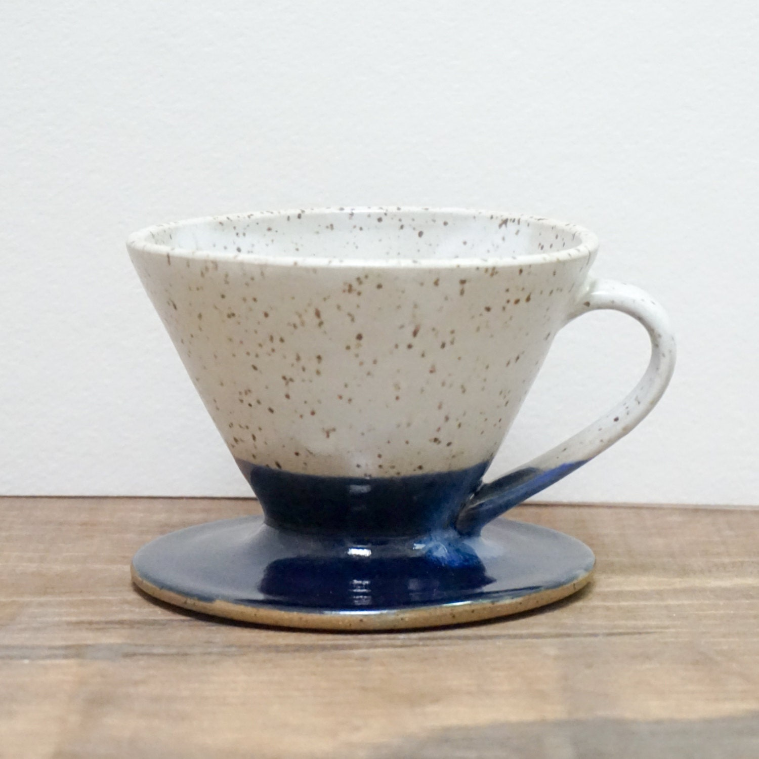 Pour Over Coffee Maker Ceramic : Wheel-Thrown Pottery Ceramic Pour Over Coffee Dripper Modern