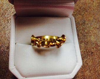 18K Italian Bell Ring