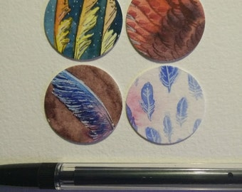 Sticker Pack - Feathers
