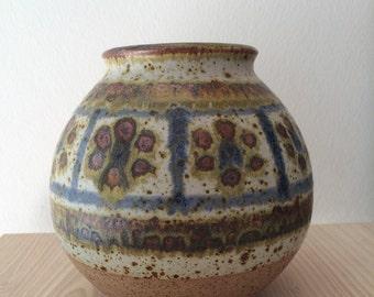 Handmade Michael Andersen & Søn pottery vase, Bornholm DK