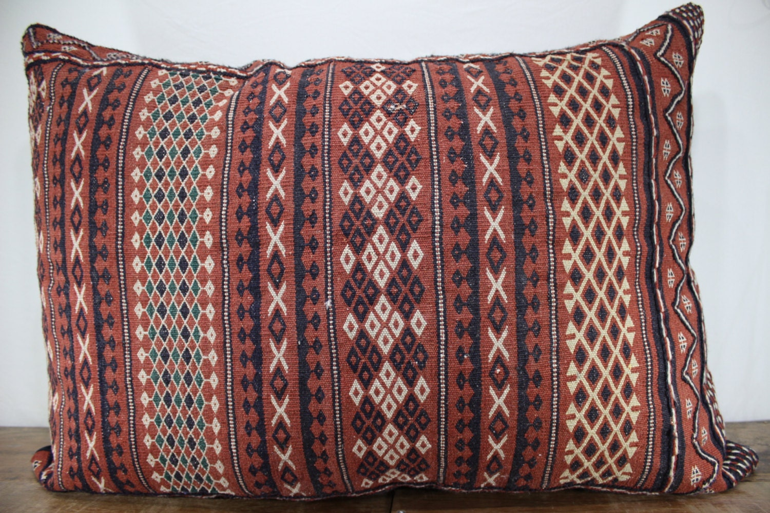 28x40 King size kilim pillow floor cushion cover kilim cushion