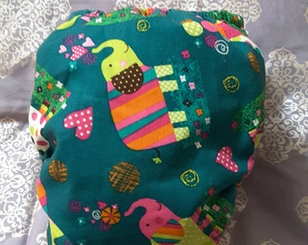 Onesize Elephant Pocket  Cloth diaper