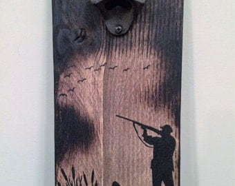 Duck Hunter (Bottle Opener) / Pallet Art