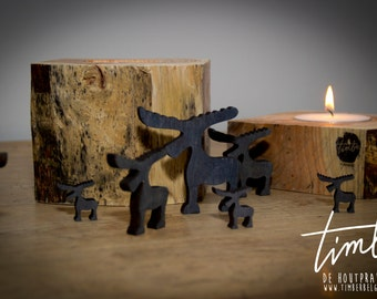 Candleholders from lach wood (set price)
