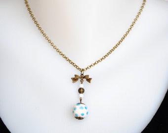 Ceramic necklace CIRCLE