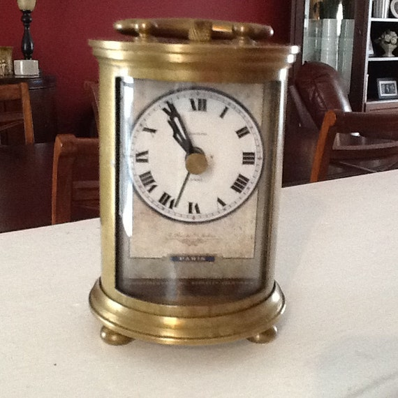 Timeworks French Table Parisien Small (FTPS) Brass Carriage Clock