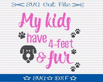 Dog Lover SVG / SVG Cut File / Silhouette Cameo Designer Edition / Cricut Design Space / Vinyl Cutting File