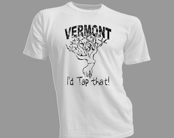 Super cool Vermont maple syrup tap that tree