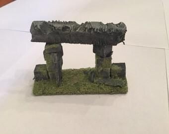 Modular Wall entrance for Wargaming terrain