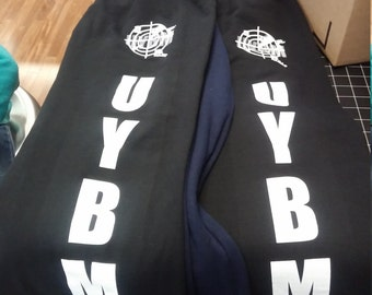 U.Y.B.M sweat pants