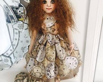 Handmade Fabric Cloth Doll - 60cm