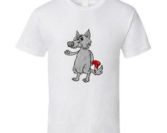 Mr. Wolf Vs Red Riding Hood T Shirt