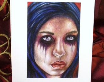 Mourning Giclee art print