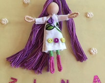 Alphabet Dolls - Z Zinnia