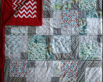 Quilt small Fox baby