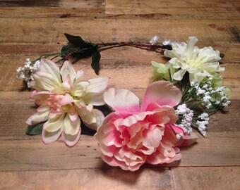 Spring Flower Crown 6