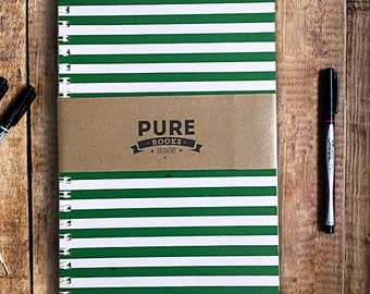 Sketchbook Notebook PUREbooks Green