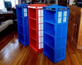 Tardis Book shelf