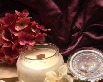 10 oz All Natural Soy Wood Wick Candle
