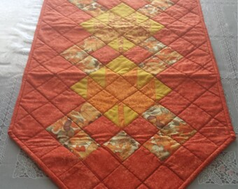 Fall Table Runner, Fall Quilted Table Runner, Table Runner, Runner, Holiday Decor, Dinning Table Runner