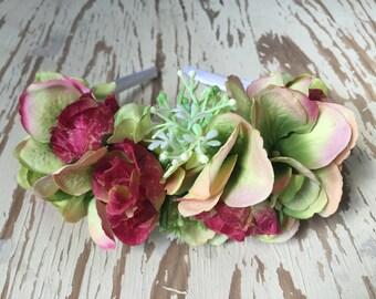 Free Spirit Flower Crown Headband