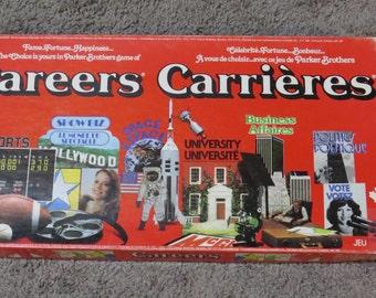 Vintage Careers Board Game  1979