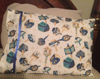 Dreidel, Dreidel, Dreidel pillow case
