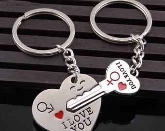 Lover's Valentine Keychain