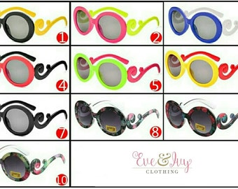 Kids Funky Vogue Fashion Sunglasses